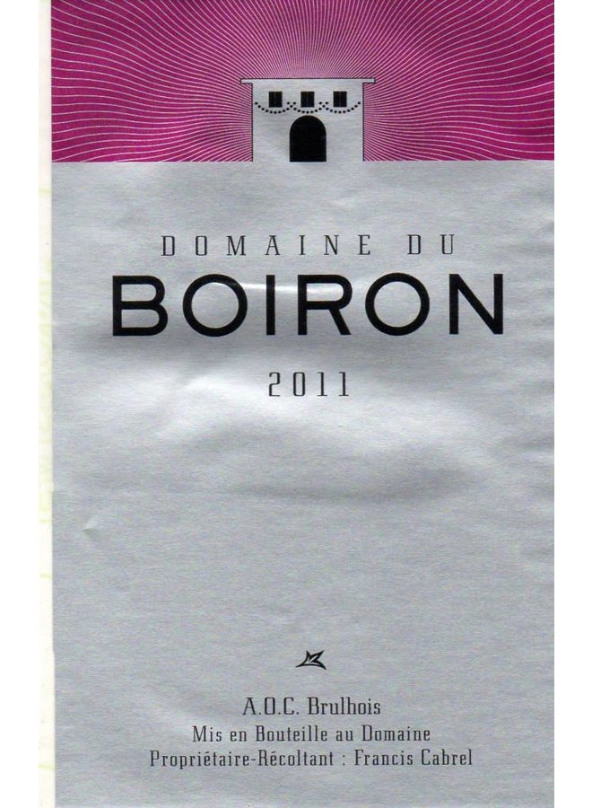 Domaine du Boiron - Philippe Cabrel