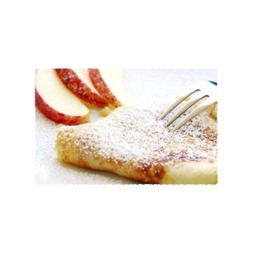 Crêpes met appel en roquefort