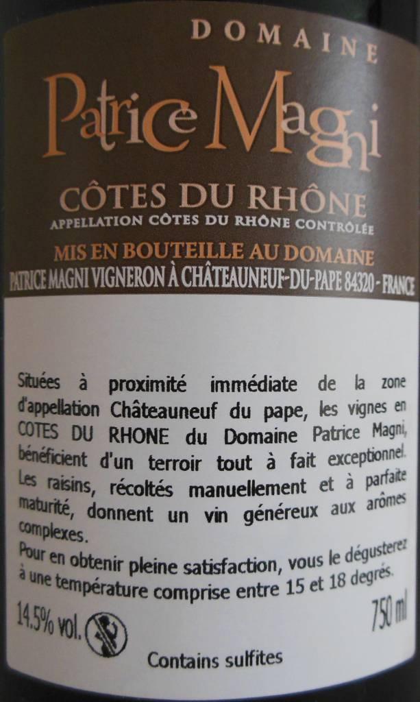 Domaine Patrice Magni - Côtes du Rhône-3