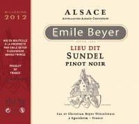 """Domaine Emile Beyer - Pinot Noir """"Lieu-dit Sundel"""" - 2015-2"""