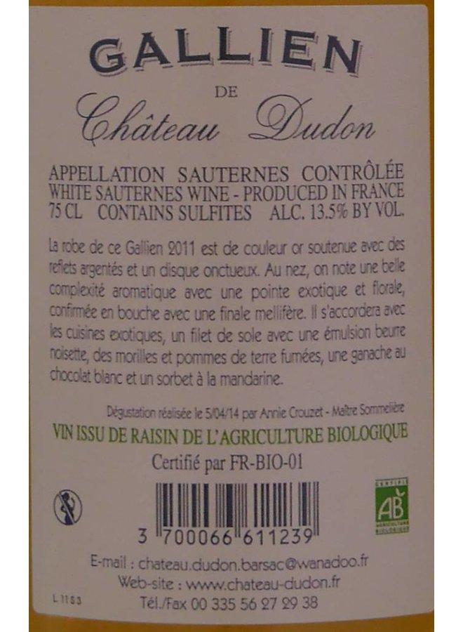 Château Dudon - Sauternes - Gallien de Château Dudon