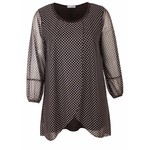 Magna Fashion Tuniek C352 CHIFFON PRINT