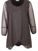 Magna Fashion Tunic C352 CHIFFON PRINT