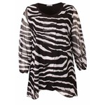 Magna Fashion Tunika C352 CHIFFON PRINT