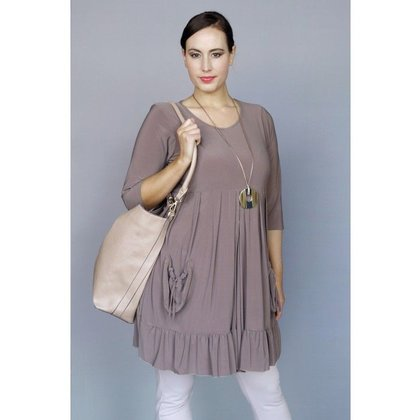 Magna Fashion Tunic C108 SOLID