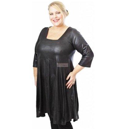 Magna Fashion Tunic C293 LEATHER LOOK