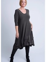 Magna Fashion Kleid C6034 SOLID