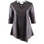 Magna Fashion T-Shirt B5008 LEDER-LOOK