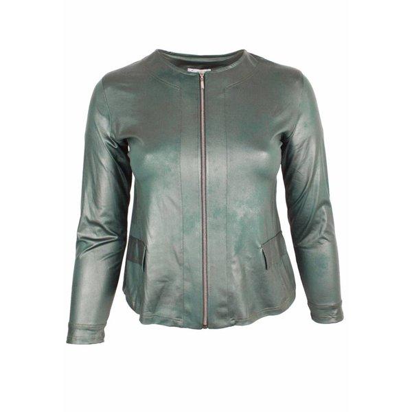 Magna Fashion Jacke K31 LEDERLOOK WINTER