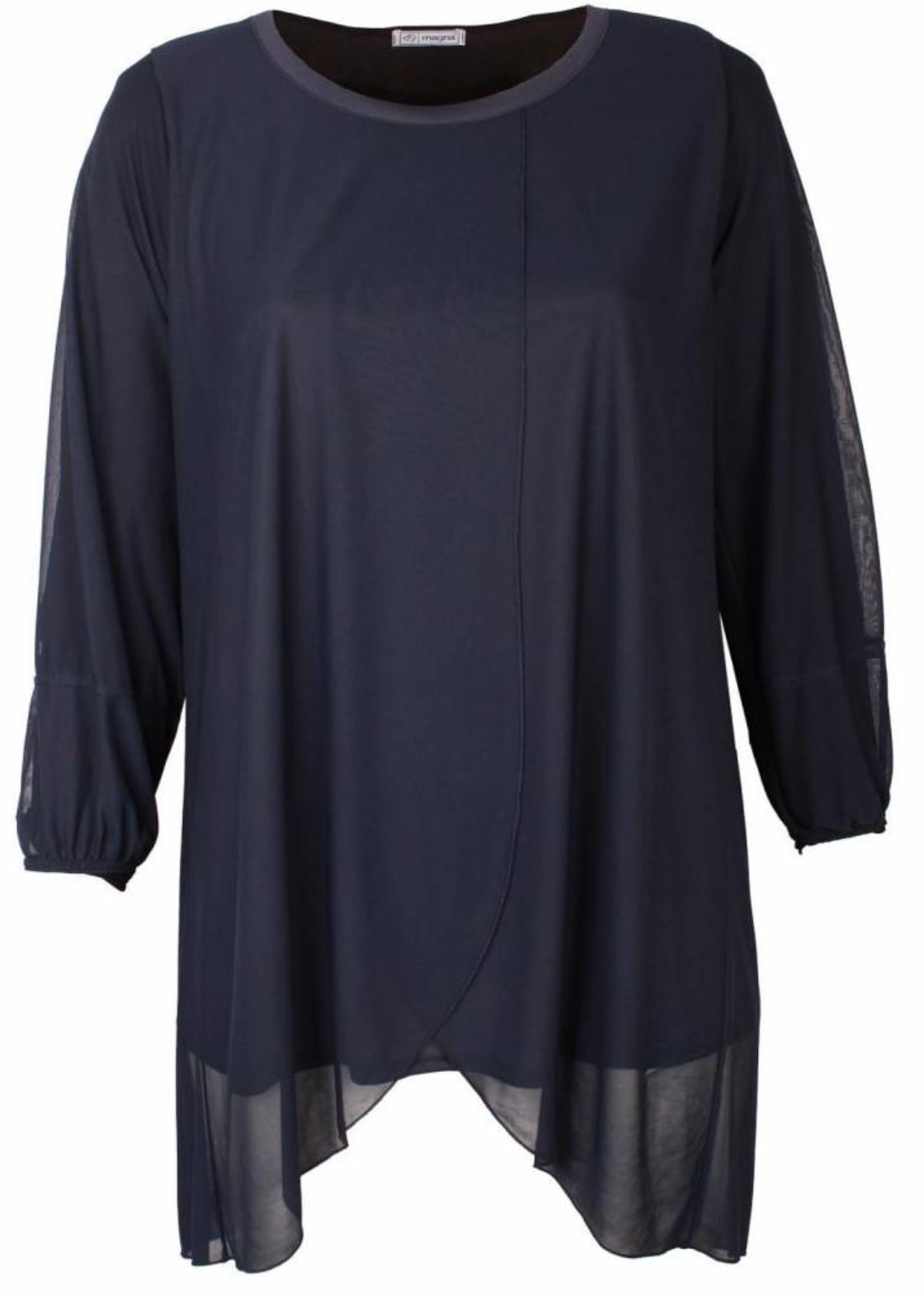 Magna Fashion Tuniek C352 CHIFFON BASIS