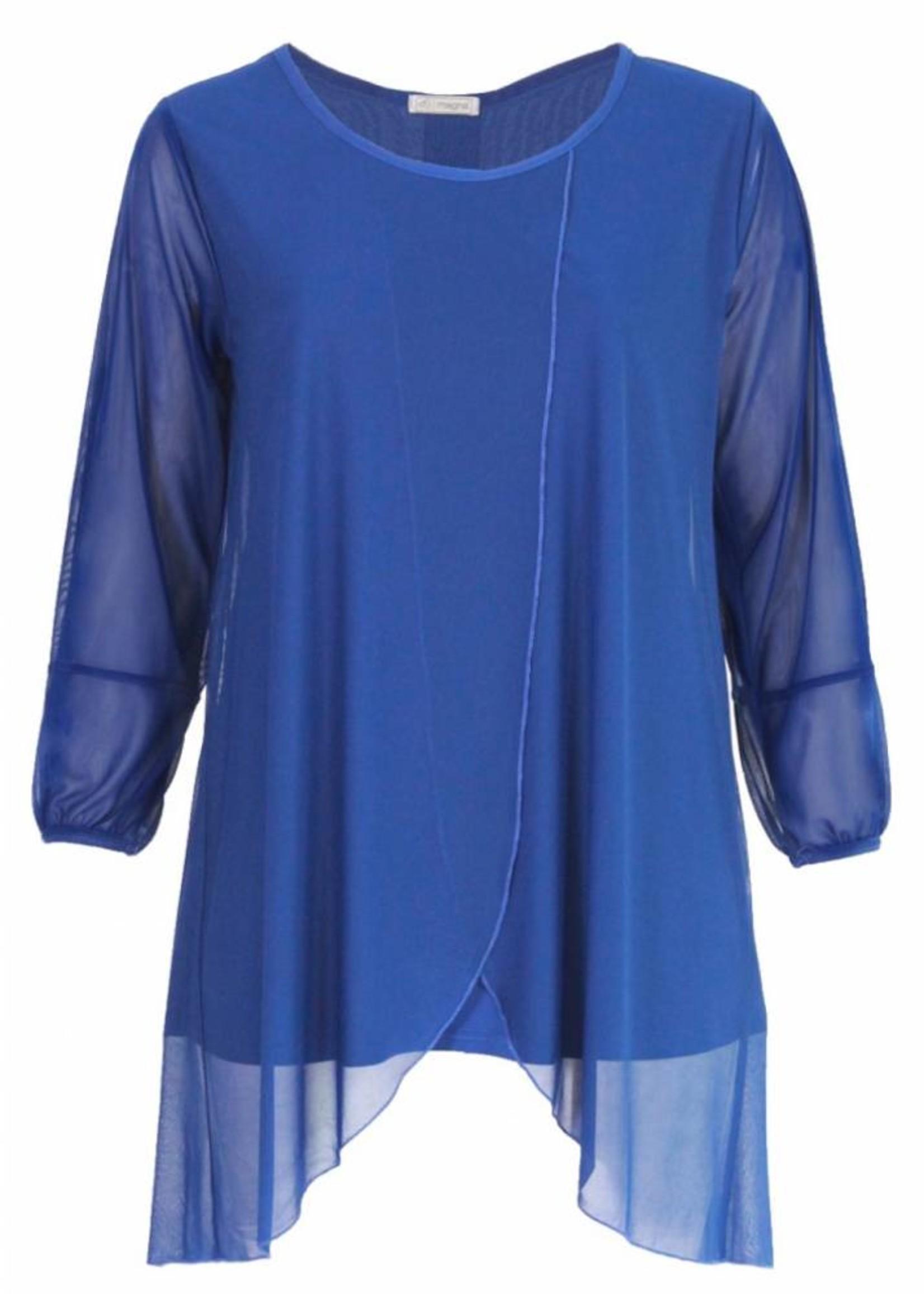 Magna Fashion Tuniek C352 CHIFFON WINTER