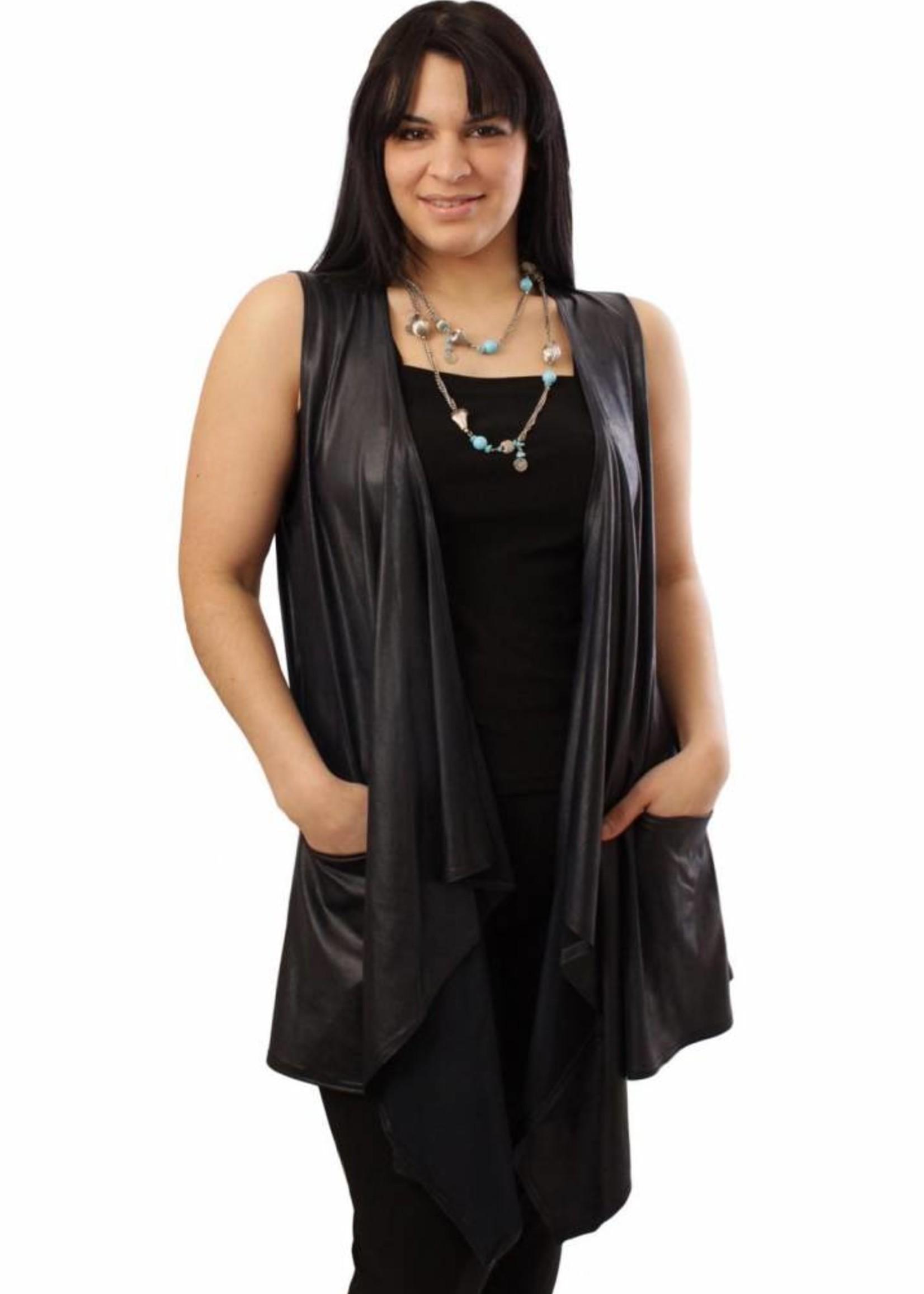 Magna Fashion Bolero A94 LEATHER LOOK BASIS
