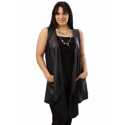 Magna Fashion Bolero A94 LEATHER LOOK BASIS