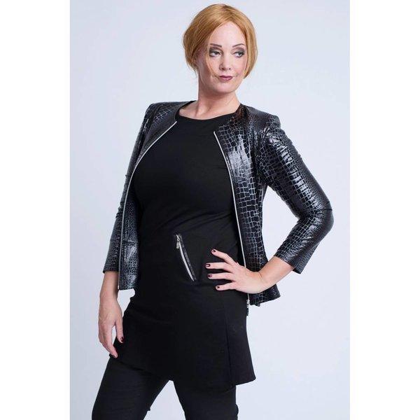 Magna Fashion Jas K7001 LEATHERLOOK PRINT