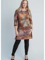 Magna Fashion Dress C6038 LEATHERLOOK PRINT