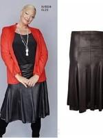 Magna Fashion Skirt G23 LEATHERLOOK