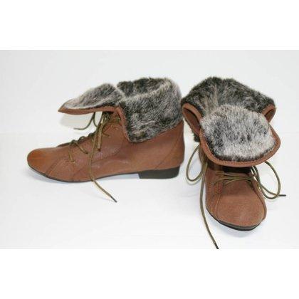 N2H Shoes N2H cheville de démarrage BROWN