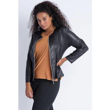 Magna Fashion Jacket K31 LEATHER LOOK BASIS