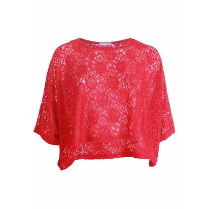 Magna Fashion Poncho M4004 LACE WINTER