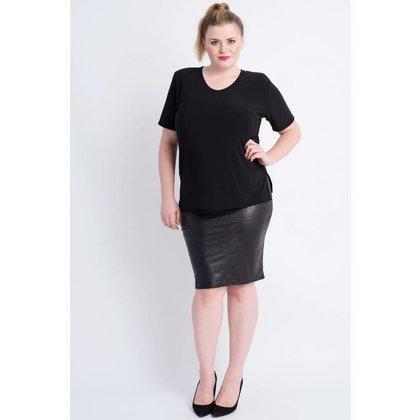 Magna Fashion Skirt G41 LEATHERLOOK WINTER