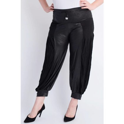 Magna Fashion Trousers D23 LEATHERLOOK