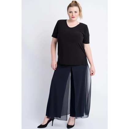 Magna Fashion Trousers D4003 CHIFFON WINTER