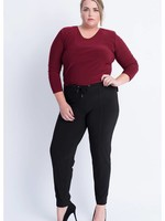 Magna Fashion Trousers D7003 SOLID