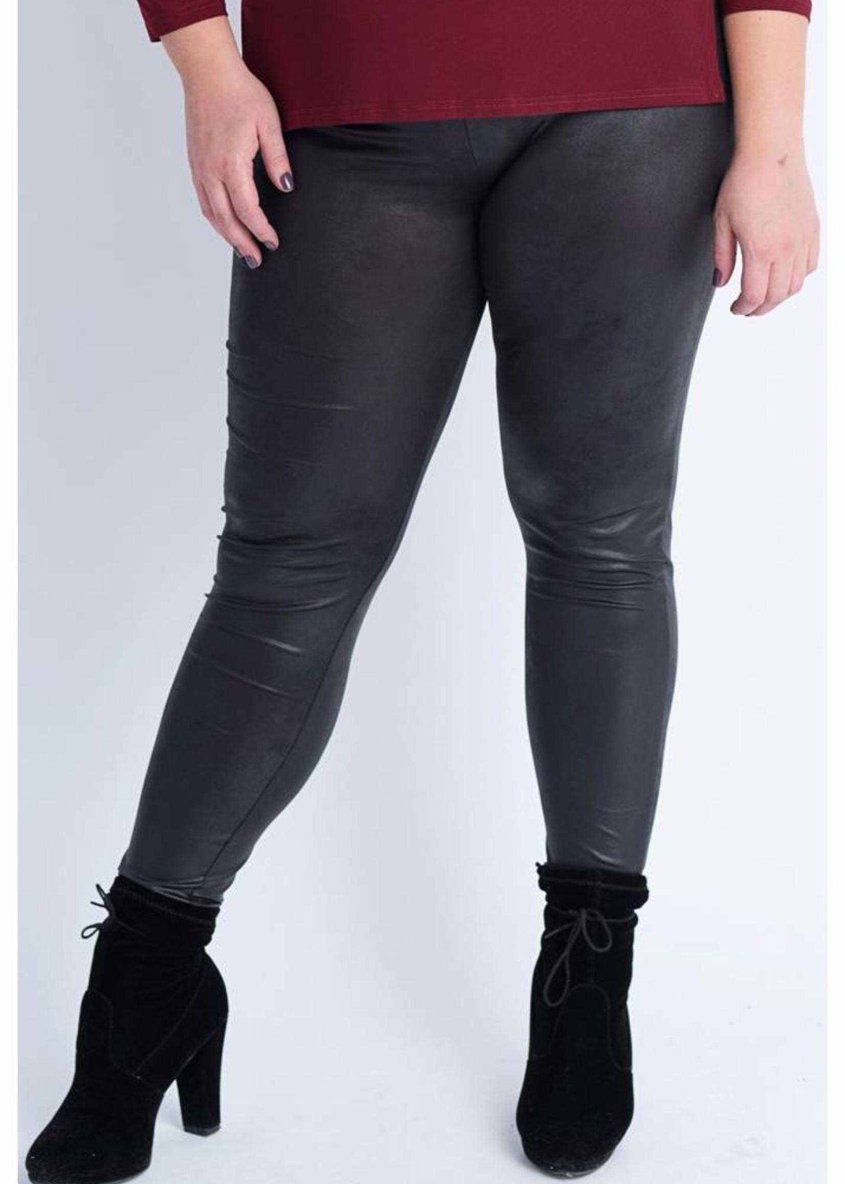 Magna Fashion Legging F23 LEATHER LOOK