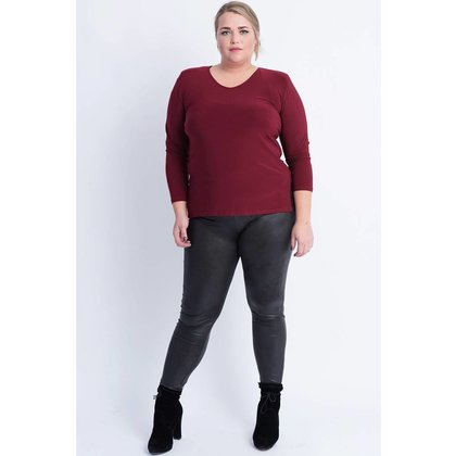 Magna Fashion Legging F23 LEATHER LOOK