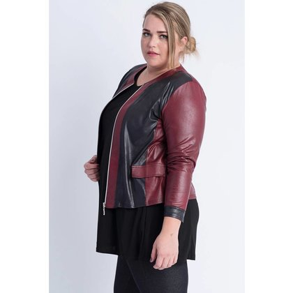 Magna Fashion Jacket K31 2T LEATHER LOOK WINTER