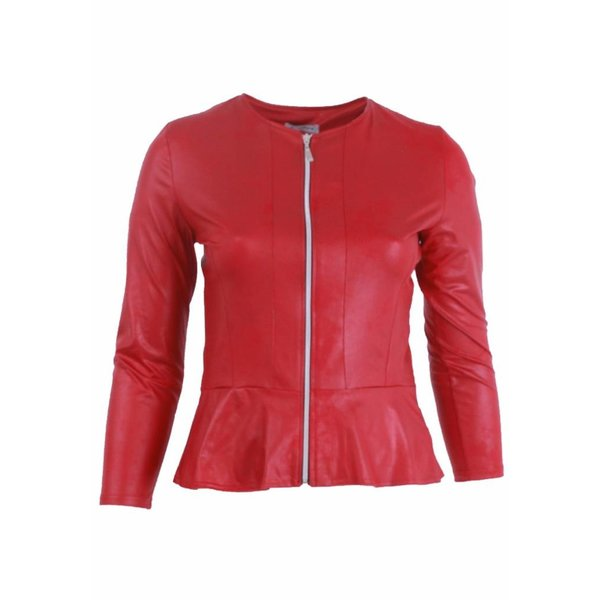 Magna Fashion Jacke K7001 LEDERLOOK WINTER