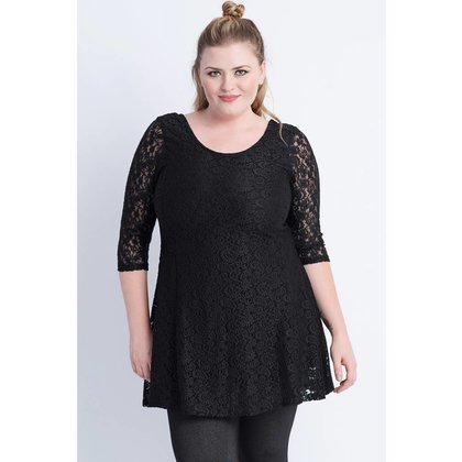 Magna Fashion Tunika C4061 LACE WINTER