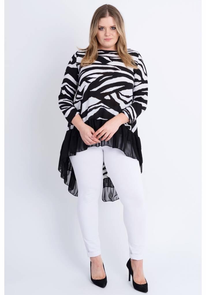 301c7f438a5bb9 Tuniek C7021 PRINT - Kay Fashion