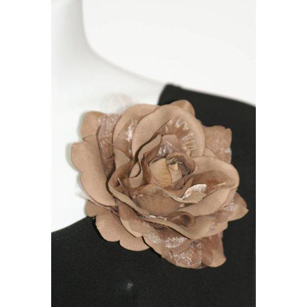 Fashion Jewelry Rose TAUPE