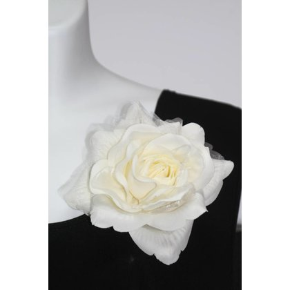 Fashion Jewelry Rose WHITE
