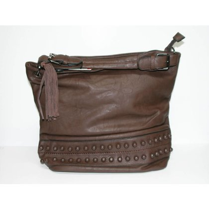 Handbag ETERNEL CHAIN COFFEE