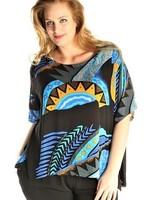 Luna Serena Shirt HAVANAH KRINKLE