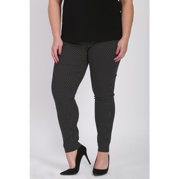 Magna Fashion Broek D7002 VISCOSE PRINT