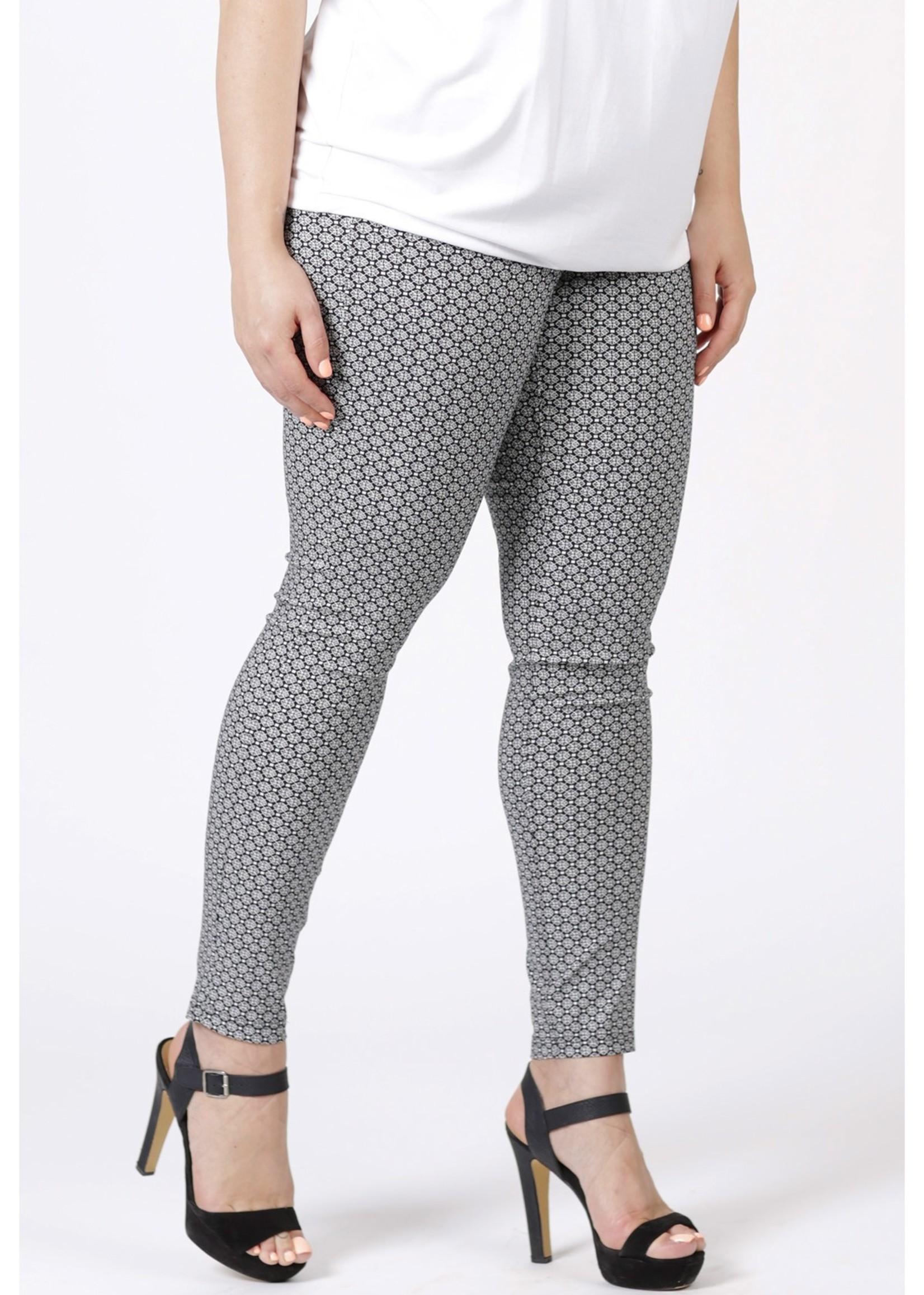 Magna Fashion Pants D7002 VISCOSE PRINT
