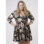 Magna Fashion Kleid C6031 DRUCKEN I