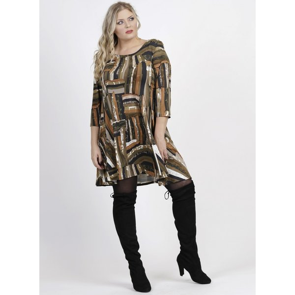 Magna Fashion Kleid C6031 DRUCK II