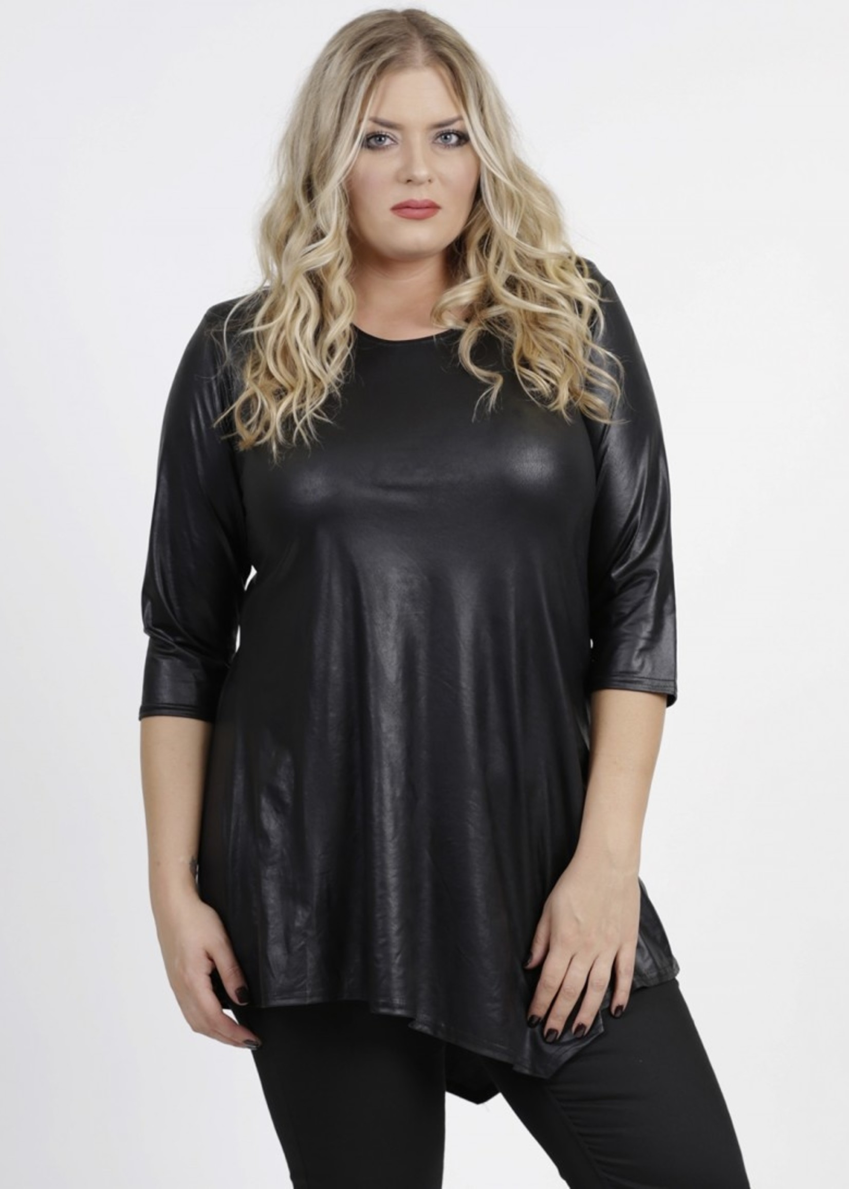 Magna Fashion T-Shirt B93 LEATHERLOOK