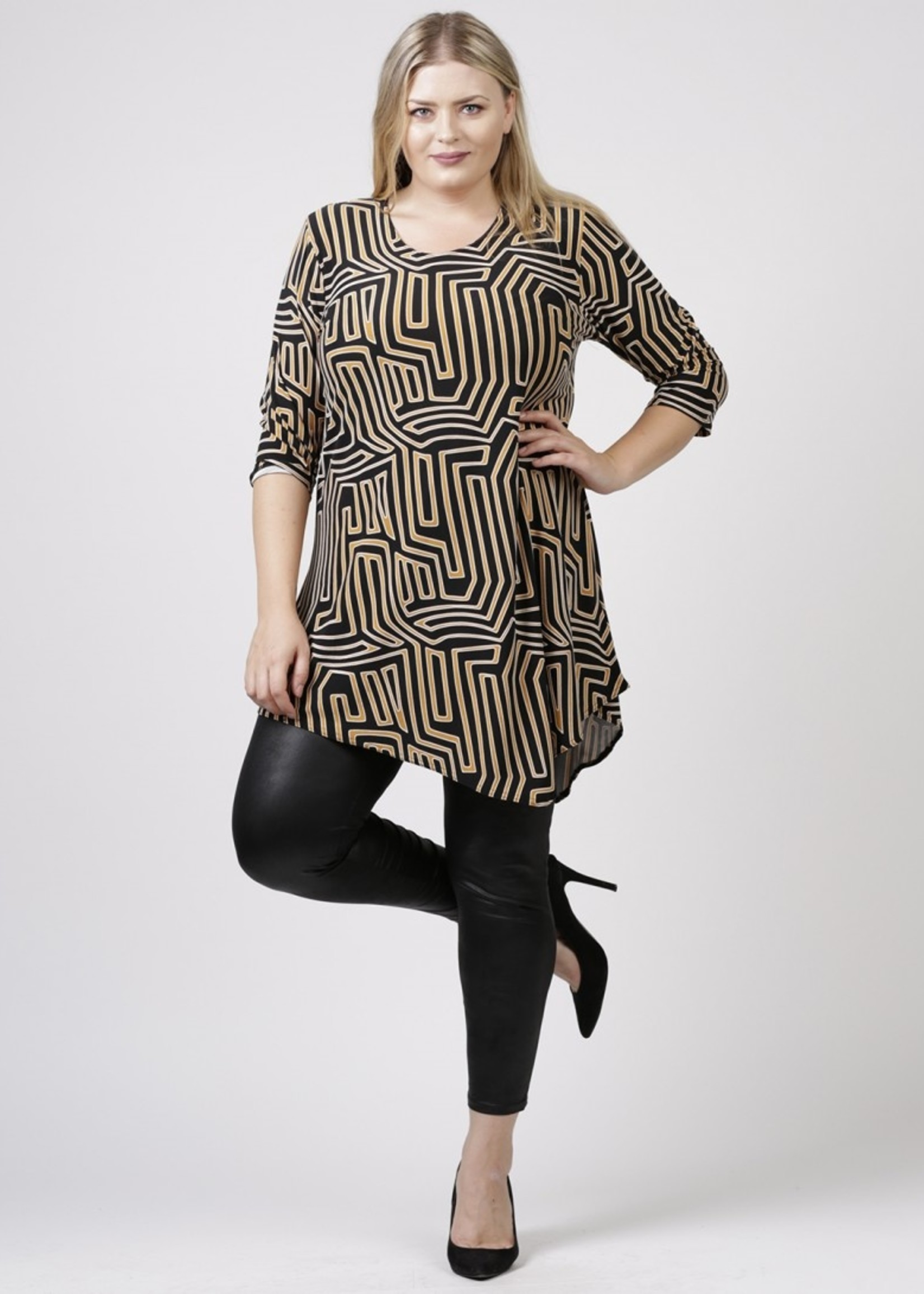 Magna Fashion Shirt B93 PRINT II