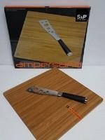 S & P CHEESE SHELF & Cheese Knife