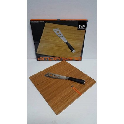 S & P CHEESE SHELF & Cheese Knife