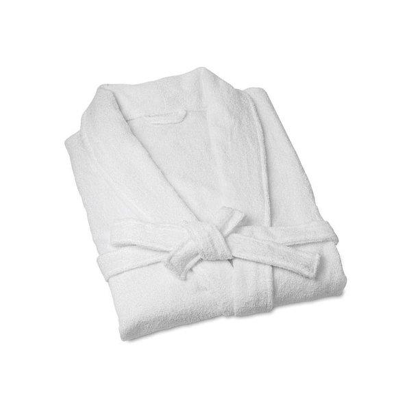 Bomdia BATHROBE WHITE COTTON
