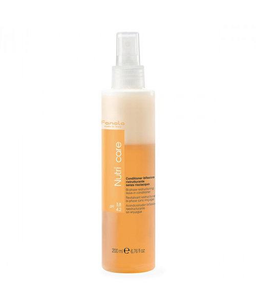 Fanola Nutri Care Bi-Phase Leave-in Conditioner Spray - 200ml
