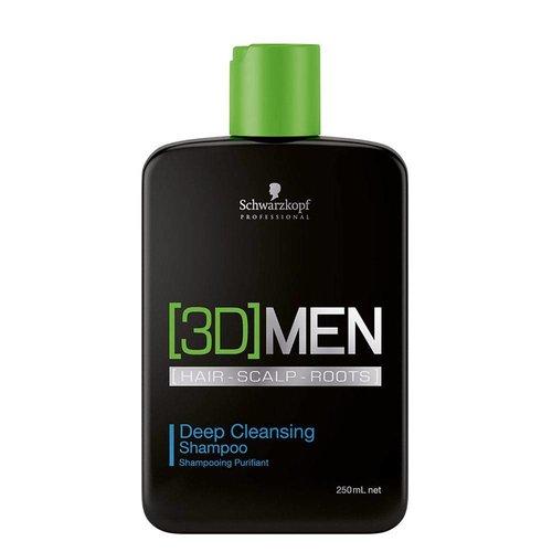 Schwarzkopf 3DMen Deep Cleansing Shampoo