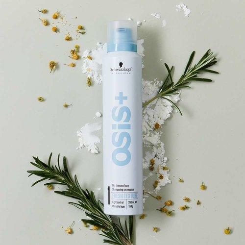 Schwarzkopf Osis+ Fresh Texture Dry Shampoo Foam - 300ml