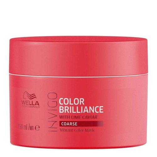 Wella Invigo Color Brilliance Masker - weerbarstig/dik haar